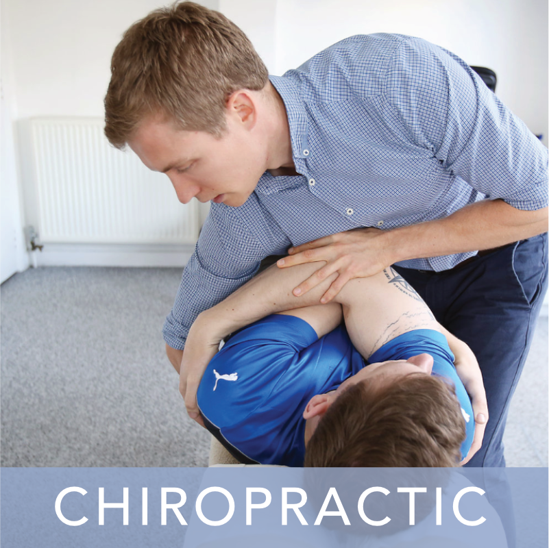 Chiropractic treatment at The Chiropractic Clinic New Malden